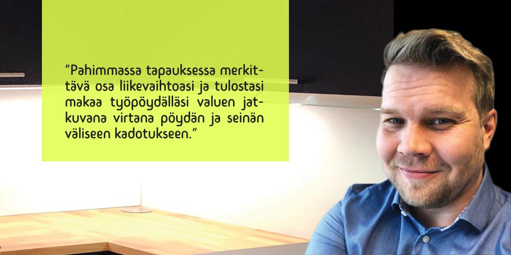 Tuomas Numminen - Admicom asiakaslehti - Asiantuntijan kynästä