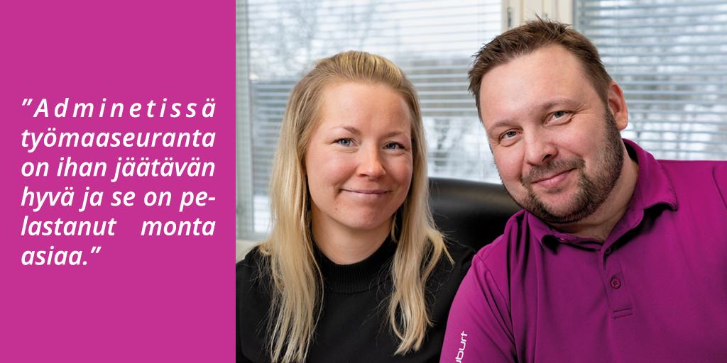 Laatulattiat Uusimaa Oy - Adminet kokemuksia - Rakennusalan toiminnanohjausjärjestelmä