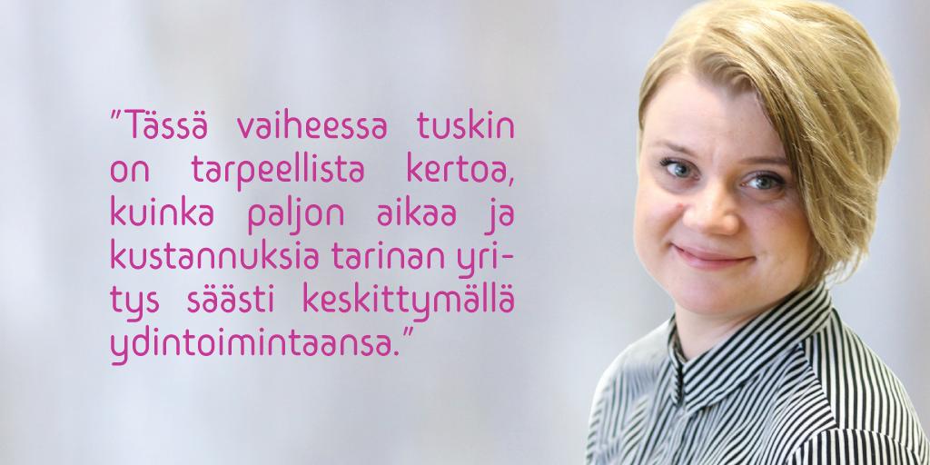 Anna-Maija Ijäs - Asiantuntijan kynästä - Teollisuuden Maailma | Admicom