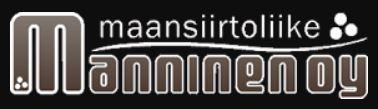 Maansiirtoliike Manninen - logo