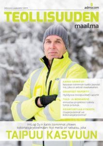 Teollisuuden Maailma 1/2019 - kansi | Admicom