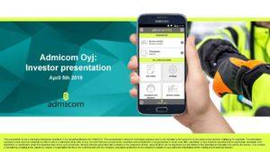AdmicomOyj - Investor presentation 20190409 (EN)