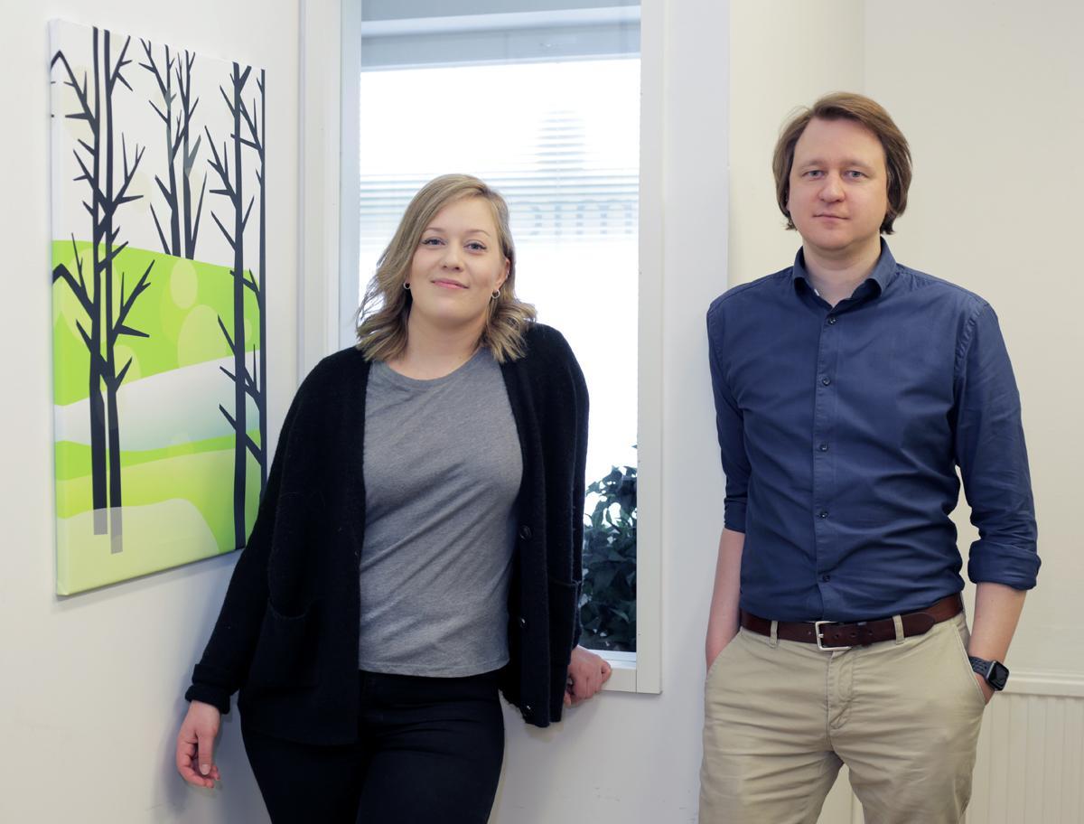 Vilma Hämäläinen ja Pasi Honkanen - Admicom Finland Oy