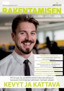 Rakentamisen & talotekniikan Maailma 2/2019 kansi - Admicom