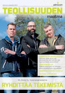 Teollisuuden Maailma 2/2019 kansi - Admicom