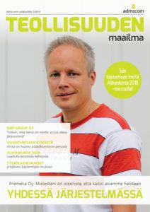 Teollisuuden Maailma 3/2019 kansi - Admicom