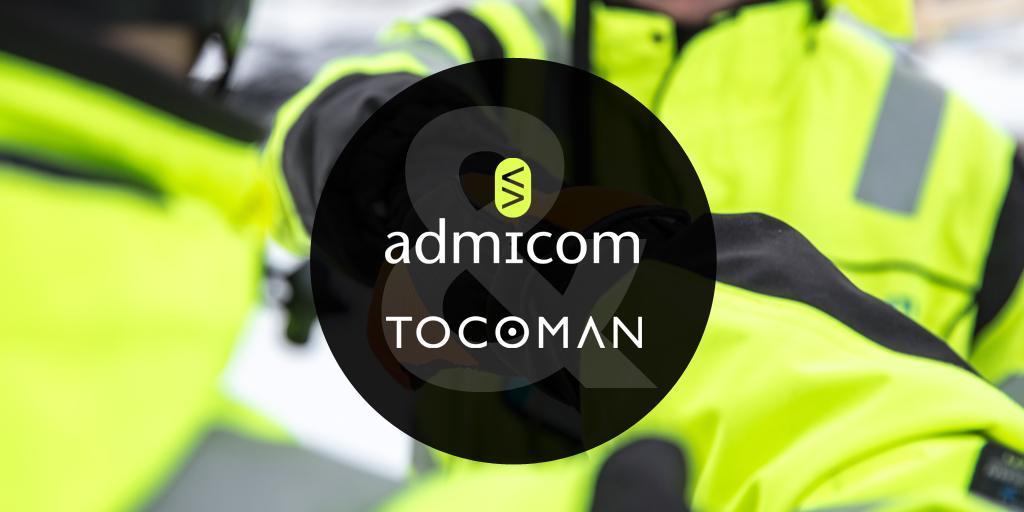 Admicom ja Tocoman yhdistyivät