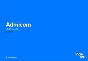 Inderes - Yhtiöraportti: Admicom - 19.5.2020