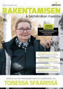Rakentamisen & Talotekniikan Maailma 2/2020 - kansi - Admicom