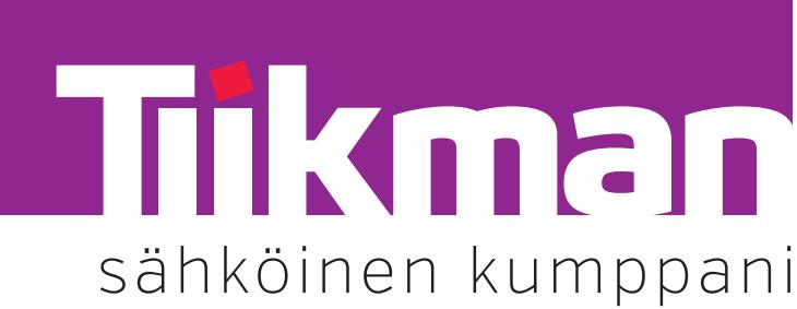 Tiikman logo | Adminet kokemuksia | Sähkötyöt ohjelmisto