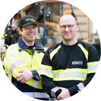 Wemasto - Niko ja Vesa Perttola - Adminet kokemuksia teollisuus