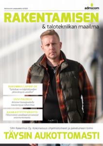 Rakentamisen & talotekniikan Maailma 4/2020 - Admicom asiakaslehti