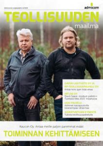 Teollisuuden Maailma 4/2020 - Admicom asiakaslehti