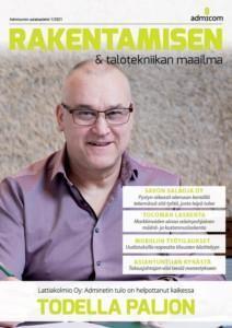 Rakentamisen & talotekniikan maailma 1/2021 - Admicom asiakaslehti